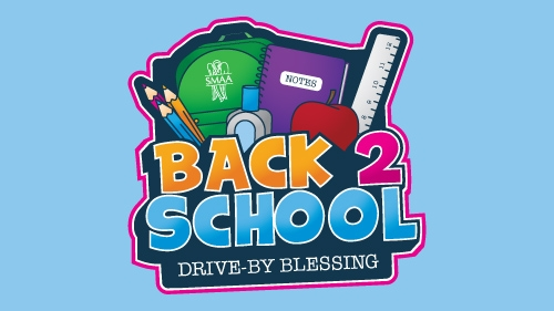 Back 2 School Drive-By Blessing
