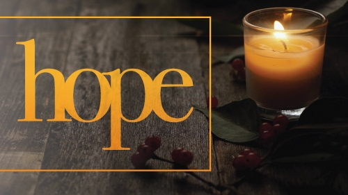 Hope: Advent Traditional Sermon Series