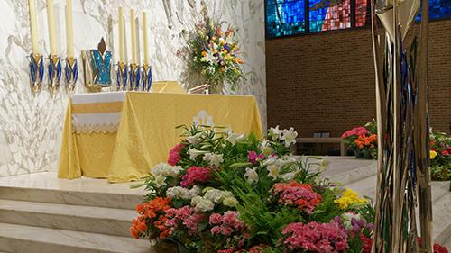 Easter Flower Memorials
