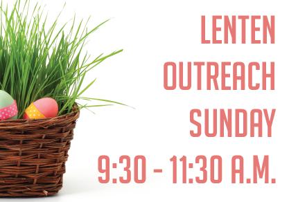 Lenten & Eastertide Outreach