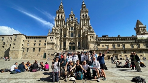 Camino Day 8: Arrival at Cathedral de Compostela