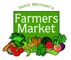 Opening date of Saint Michael's Farmers Market Season:  April 27, 2019