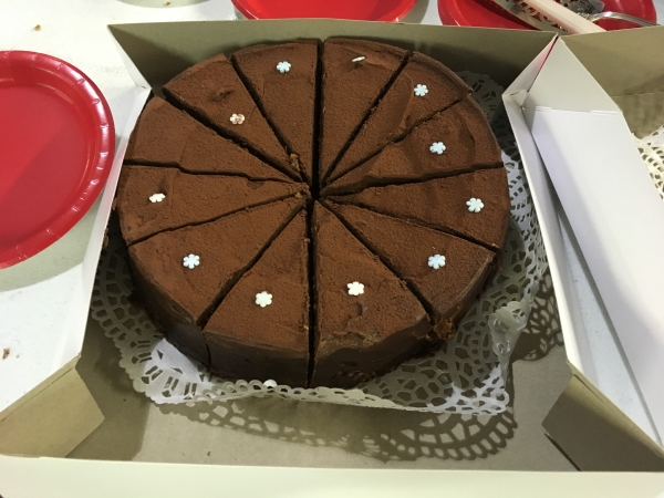 Spreading Holiday Cheer: Parishioner Bakes 40 Chocolate Cakes for Austin Street Shelter