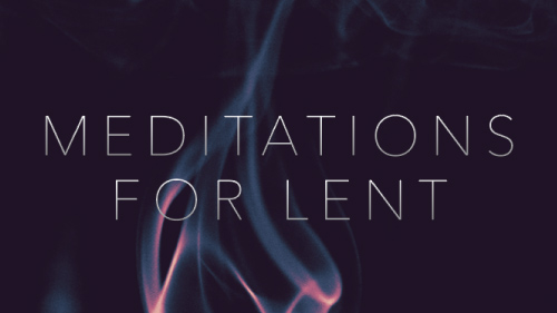 2021 Lenten Meditation Booklet