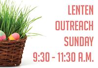 Lenten Outreach Sunday