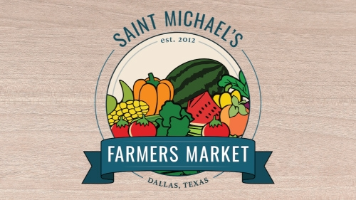 Saint Michael's Farmers Market Opening Day