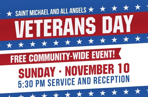 Veterans Day Service & Reception
