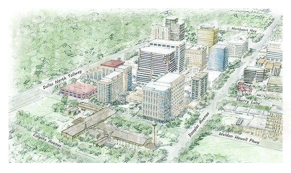 Media: Luxury Mixed-Use Development Planned for Southwest Corner of Preston Center