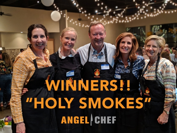 2019 ANGEL CHEF WINNERS: HOLY SMOKES!