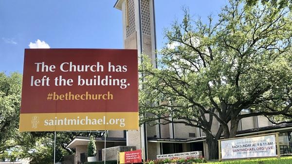 Saint Michael Yard Signs